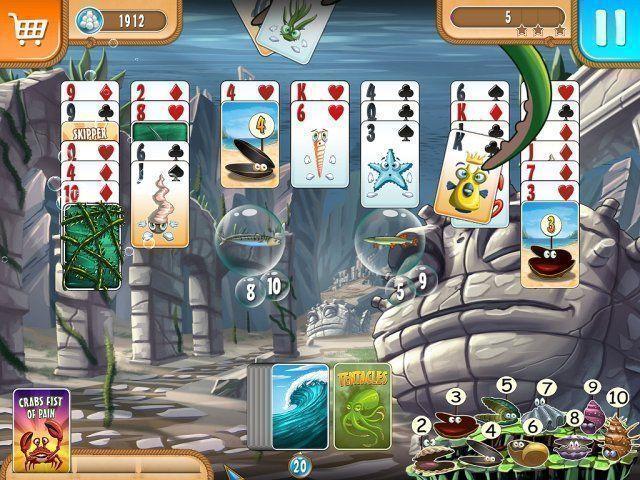 Screenshot  «Atlantic Quest: Solitaire» № 4
