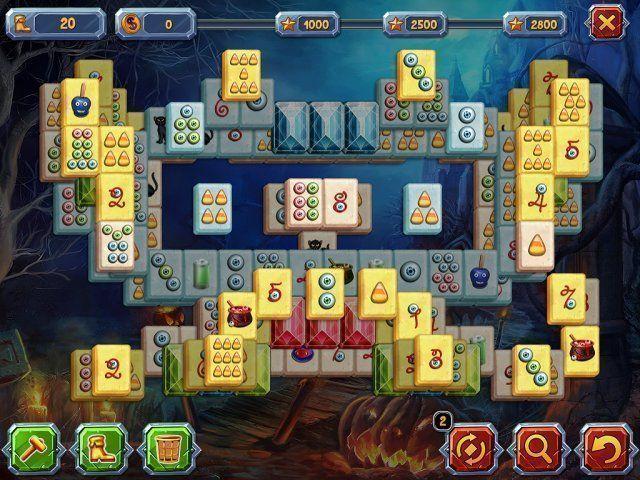 Halloween Geschichten: Mahjong