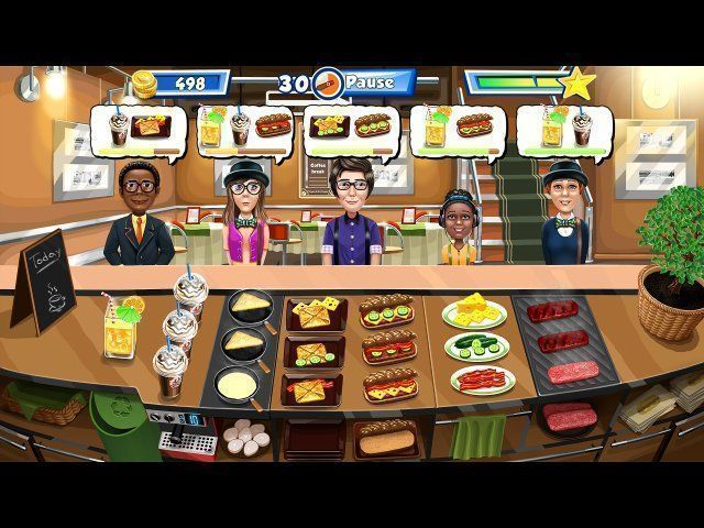Screenshot  «Happy Chef 3» № 2