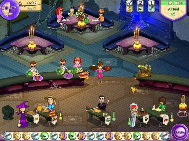 Amelie's Café: Halloween en Español game
