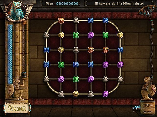Ancient Quest Of Saqqarah en Español game