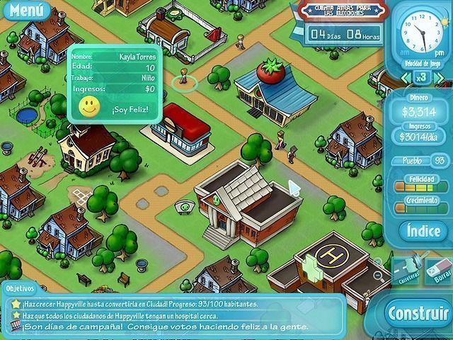 HappyVille: Quest for Utopia en Español game