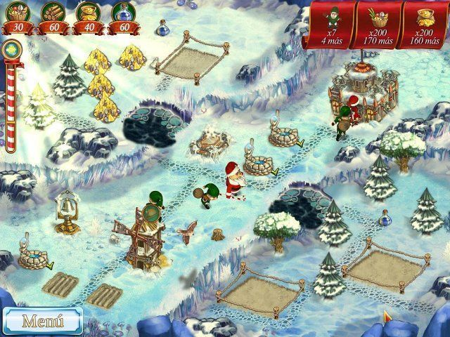 New Yankee in Santa's Service en Español game