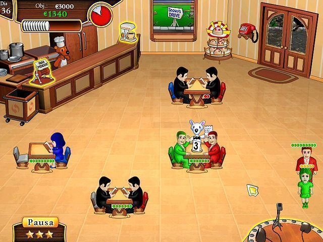 Snowy: Lunch Rush en Español game