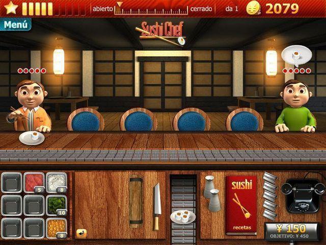Youda Sushi Chef en Español game
