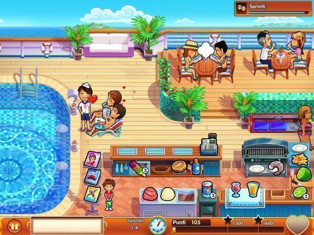 Delicious – Emily's Honeymoon Cruise game