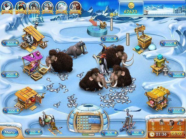 Odlotowa farma 3: Epoka lodowcowa Gra Bezpłatne