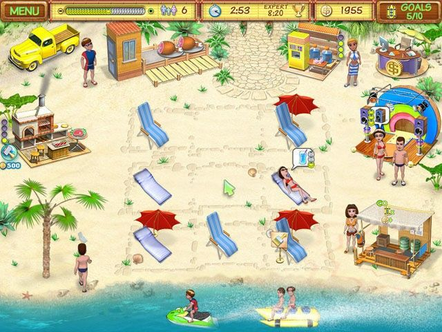 beach party spielen
