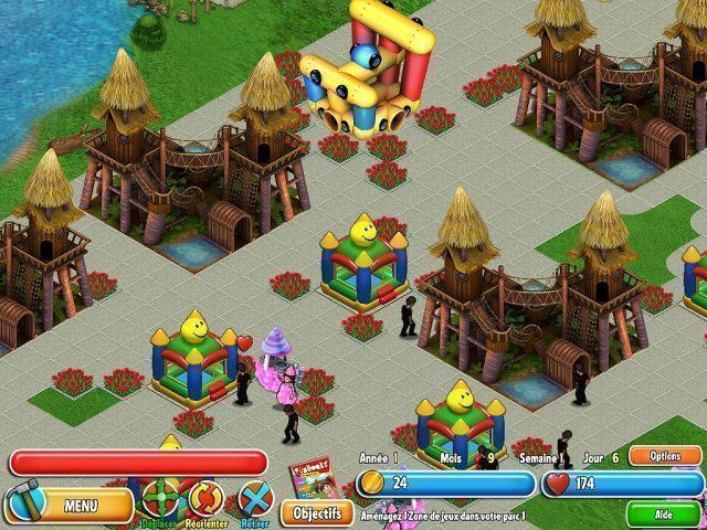 Dream Builder: Parc en Folie!